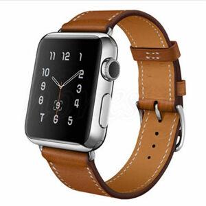 """eses Kožený řemínek 38mm/40mm hnědý pro Apple Watch s gravírováním """"K svátku"""""""
