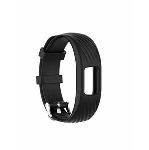 eses Silikonový řemínek černý velikost L pro Garmin VivoFit 4