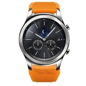 eses Silikonový řemínek oranžový 22mm