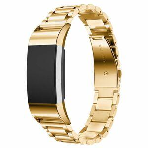 eses Kovový řemínek zlatý pro Fitbit Charge 2
