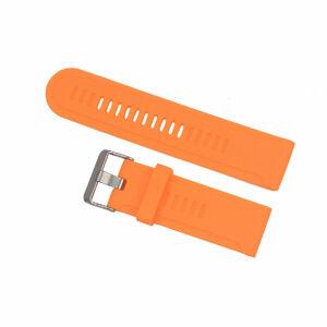 eses Silikonový řemínek oranžový pro Garmin Tactix