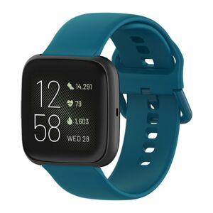 eses Silikonový řemínek tyrkysový velikost S pro Fitbit Versa