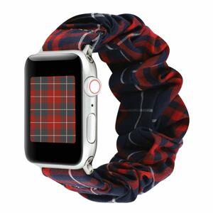eses Elastický řemínek 42mm/44mm károvaný pro Apple Watch