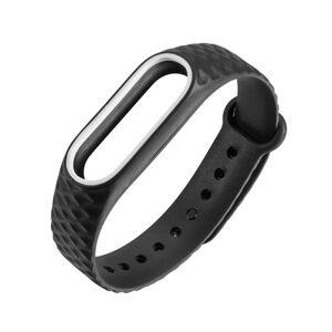 eses Náramek vzorovaný černo bílý pro Xiaomi Mi Band 2