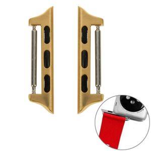 Pružinové magnetické konektory pro Apple Watch 42mm/44mm - zlatá