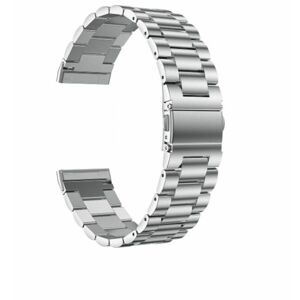 eses Kovový řemínek stříbrný pro Fitbit Versa 3