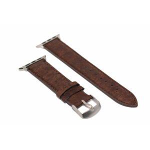 eses Korkový řemínek 38mm/40mm hnědý pro Apple Watch