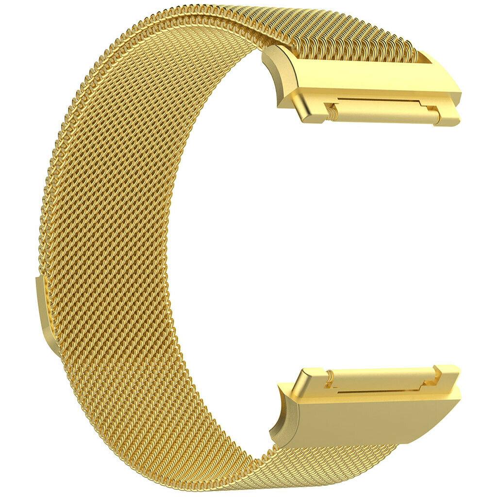 eses Milánský tah zlatý velikost L pro Fitbit Ionic
