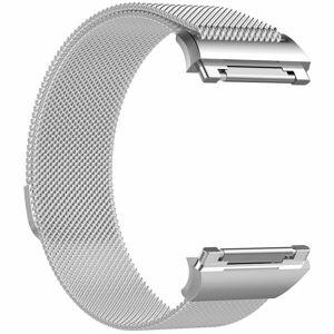eses Milánský tah stříbrný velikost S pro Fitbit Ionic