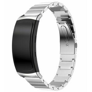 eses Kovový řemínek stříbrný pro Samsung Gear Fit 2