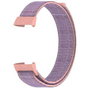 eses Nylonový řemínek růžový pro Fitbit Charge 3