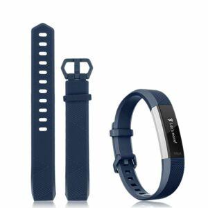 eses Silikonový řemínek tmavě modrý ve velikosti S pro Fitbit Alta