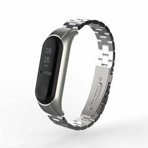 eses Kovový řemínek stříbrný pro Xiaomi Mi Band 4